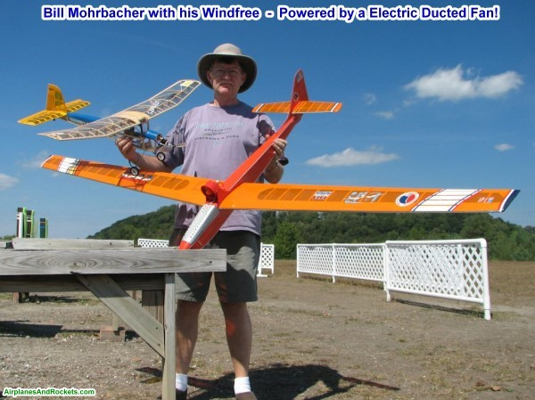 Marks Models Windfree Glider - Airplanes and Rockets