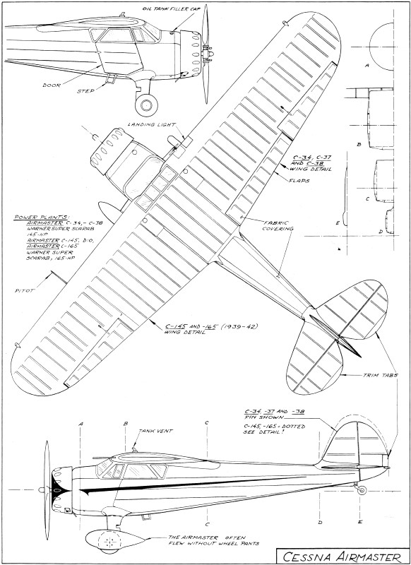cessna airmaster article article  u0026 plans  may 1974 american aircraft modeler