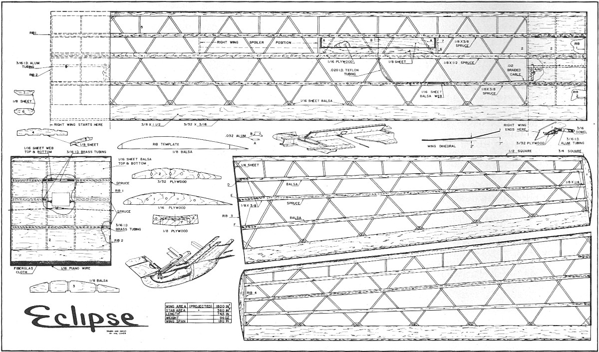 Rc Glider Plans Free Download PDF DIY weekend woodworking projects