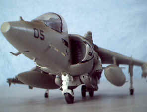 Harrier plastic model by Philip & Kirt Blattenberger - Airplanes and Rockets