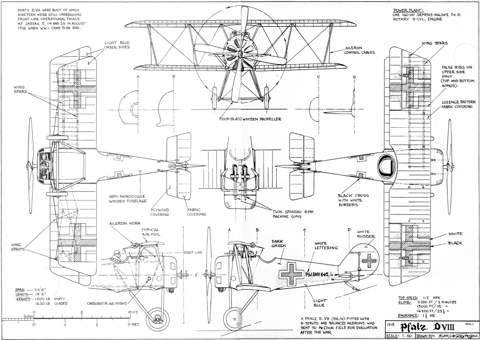 3 View Aircraft Drawings