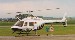 Philip & Sally Take a Helicopter Ride - Owatanna, MN - Airplanes and Rockets