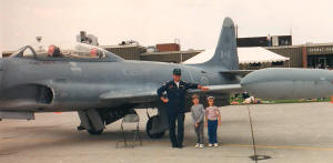 Philip & Sally Blattenberger with Cessna T-33 - Airplanes and Rockets
