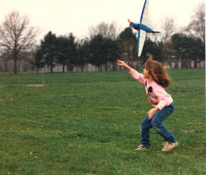 Sally launches her Stinson Reliant - Airplanes and Rockets