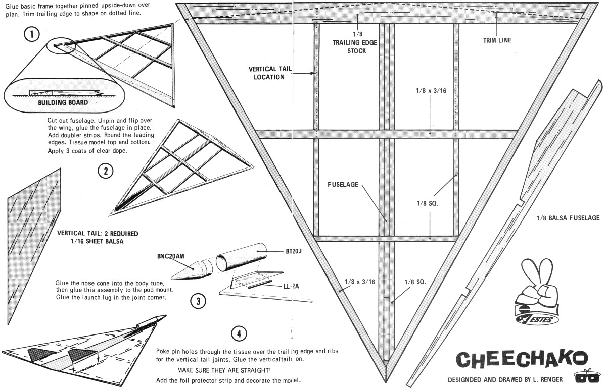 plan model glider
