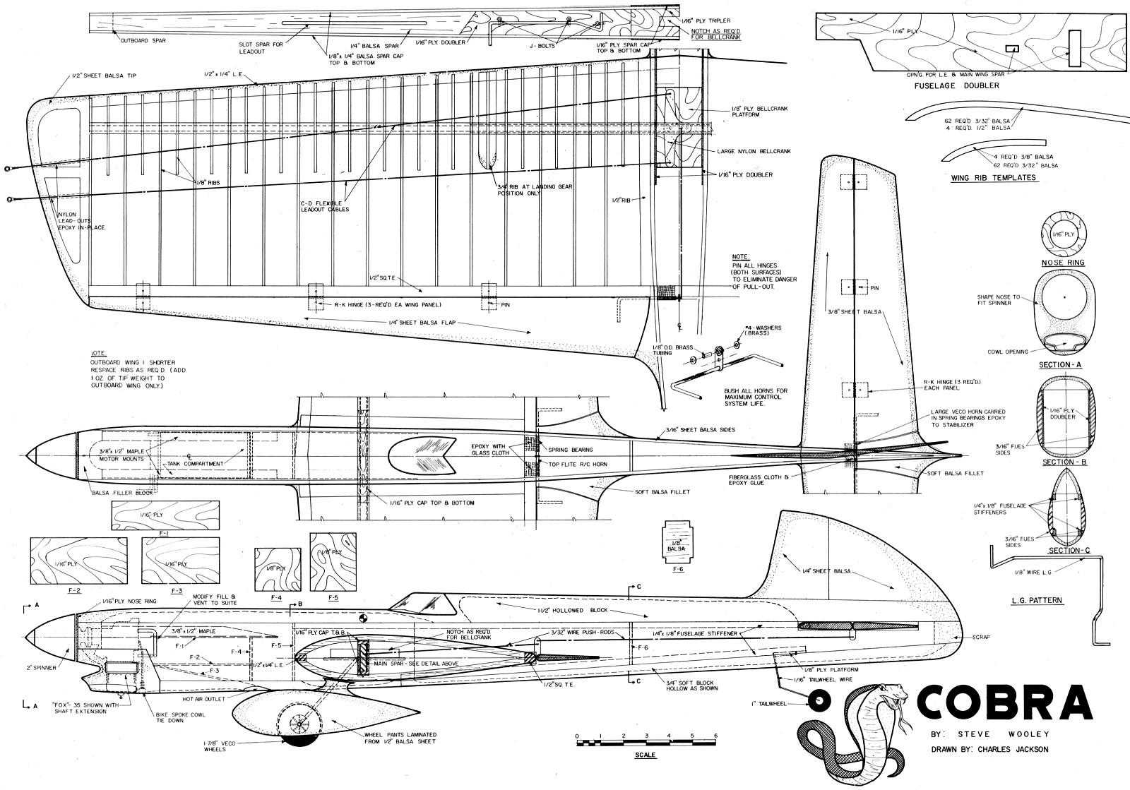 Cobra February 1971 American Aircraft Modeler Airplanes