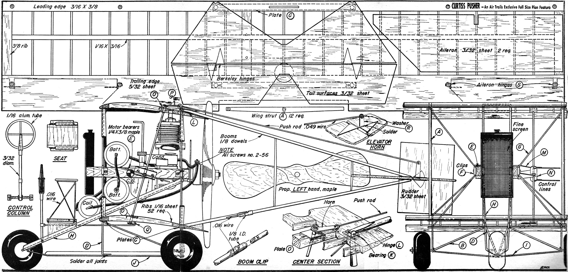 Plans For Curtiss Pusher - RCU Forums