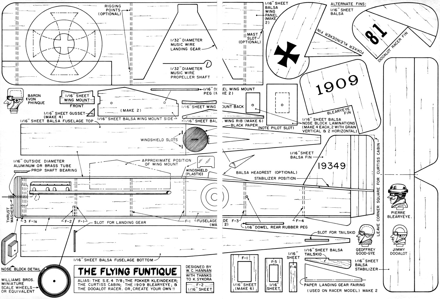Flying funtique article plans april 1969 american aircraft flying funtique plans airplanes and rockets malvernweather Image collections
