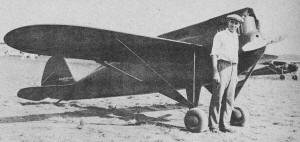 Clayton Folkerts and the Mono-Special in 1929 - Airplanes and Rockets