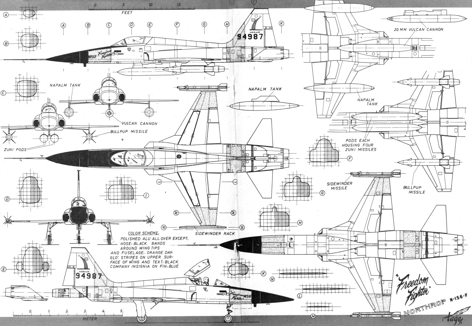 N 156 The Ultimate Northrop Fighter Suggestions War
