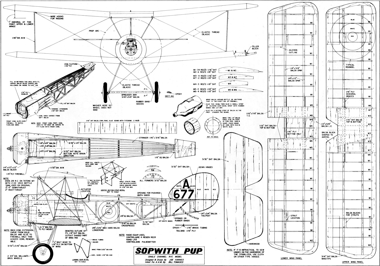 diagram of an airplane