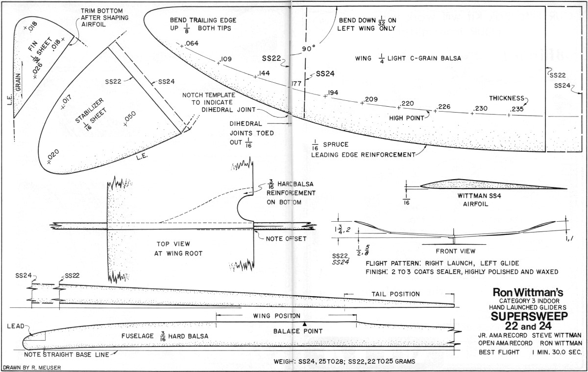 The Yellow Bird Is One Of The Model Airplane Plans Available For