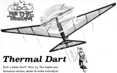 Thermal Dart Article & Plans, August 1970 American Aircraft