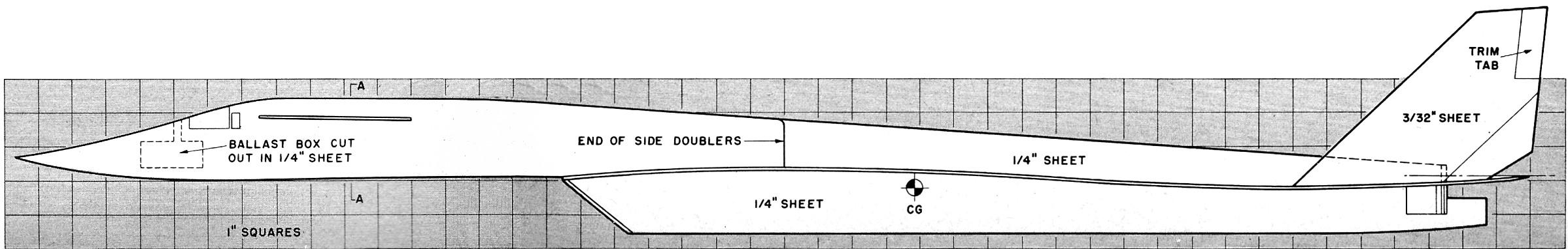 Free Flight Sensation: Bob Linn's B-70 Article & Plans, May