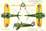 P-38 Peashooter 3-View - Airplanes and Rockets
