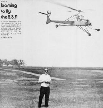 FLYING A HELICOPTER IS LIKE BALANCING ON TOP OF A HARD SPHERE ON A HARD, SMOOTH SURFACE - Airplanes and Rockets