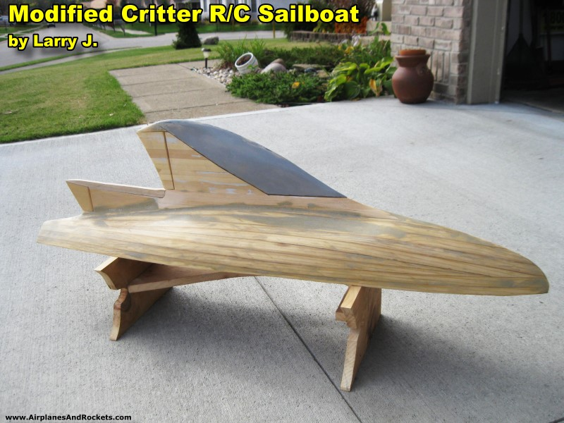 Critter R/C Sailboat, July 1973 American Aircraft Modeler Magazine