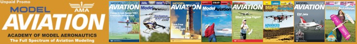 Model Aviation Magazine, AMA - Airplanes and Rockets