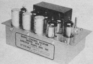 Six-tube receiver - Airplanes and Rockets