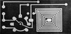 Examples of etched printed circuits - Airplanes and Rockets