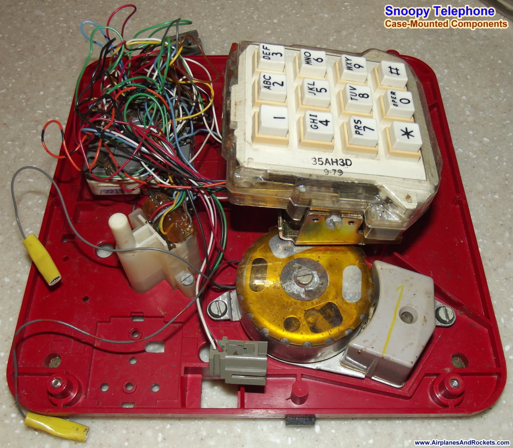 Snoopy Telephone Repair Reconditioning Airplanes And Rockets Telephoneringer Telephonerelatedcircuit Electricalequipment Component Overview Ringer Side Phone