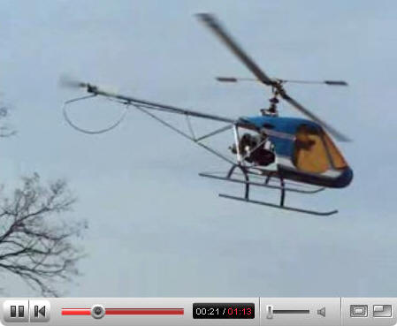 helicopter video: