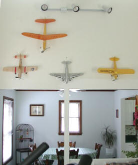 "The Blattenberger ""Model Airplane Museum Wall"""