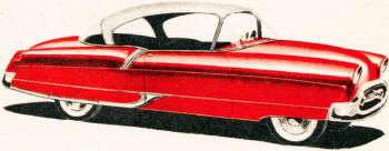 Two-door sedan by Raymond Wykes of Peoria, Illinois - Airplanes and Rockets