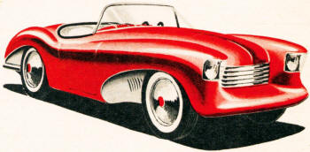 Sport roadster by George Egold, Jr. of Indianapolis, Indiana - Airplanes and Rockets