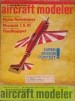 January 1971 American Aircraft Modeler magazine cover