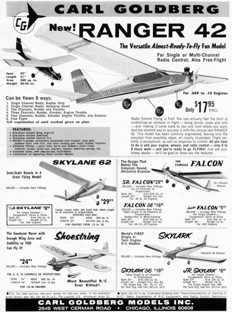 Carl goldberg advertisement form the january 1970 edition for Bureau 2a form