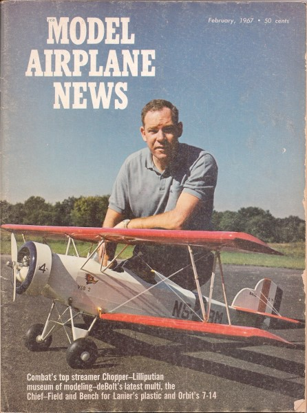 Vintage Issues of Model Airplane News - Airplanes and Rockets