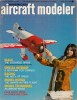 April 1973 American Aircraft Modeler magazine cover - Airplanes and Rockets