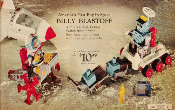 Billy Blastoff from the 1969 Sears Christmas Wish Book