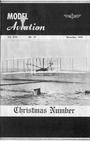 Wee -38 Lightning Article & Plans, December 1959 American Modeler