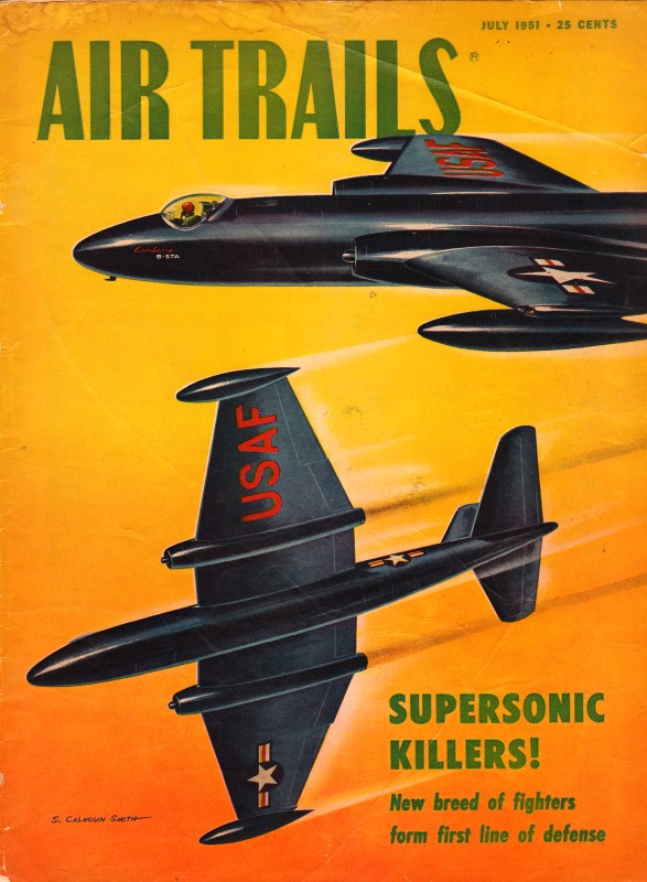 Elementary Modeling: Half-A Control-Line, July 1951 Air Trails