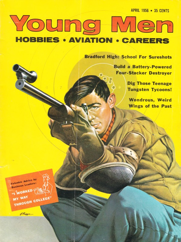Vintage Issues Of Young Men Hobbies Aviation