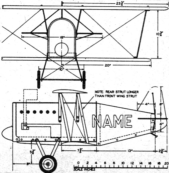 Antique Biplane Mailbox Plans - Airplanes and Rockets