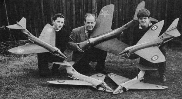 Ducted Fans! -- Scale-like R/C Planes (March 1962 American Modeler