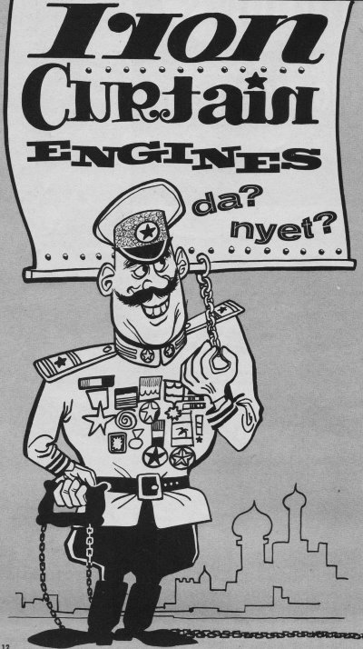 Iron Curtain Engines - da? nyet? from August 1962 American