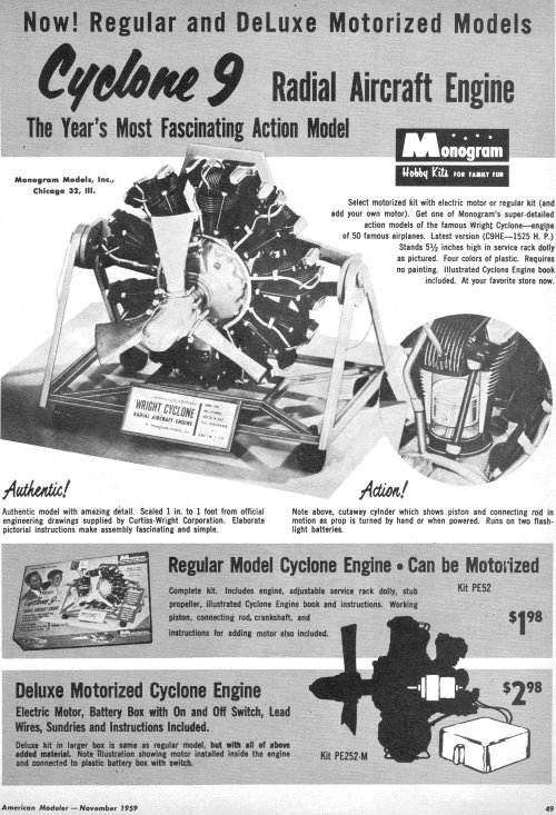 The Wright Cyclone 9 Radial Aircraft Engine - Airplanes and