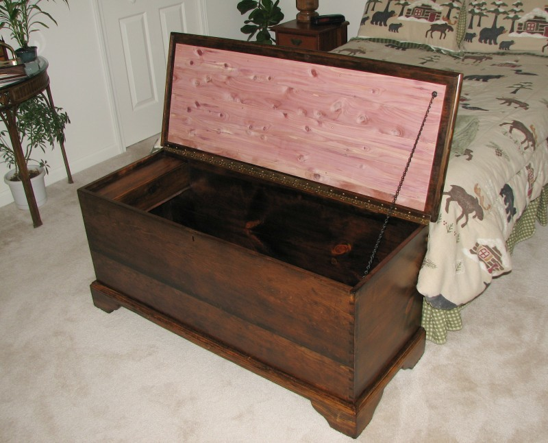 Antique Clothes Chest Restoration Airplanes And Rockets