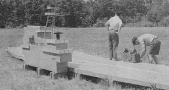 Livingston, NJ, Club Builds Control Line Navy Carrier Deck, September 1967 American Modeler - Airplanes and Rockets