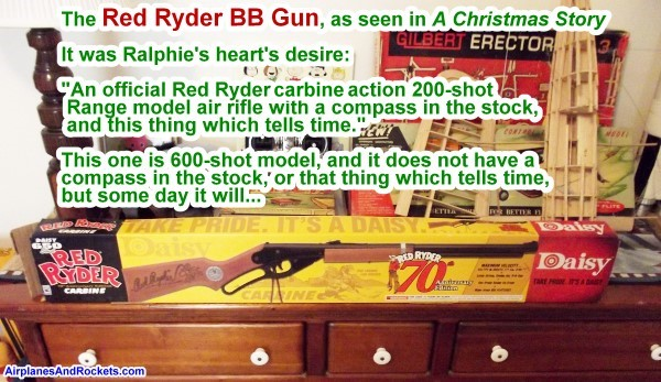 My Red Ryder BB Gun (as seen in A Christmas Story) - Airplanes and ...