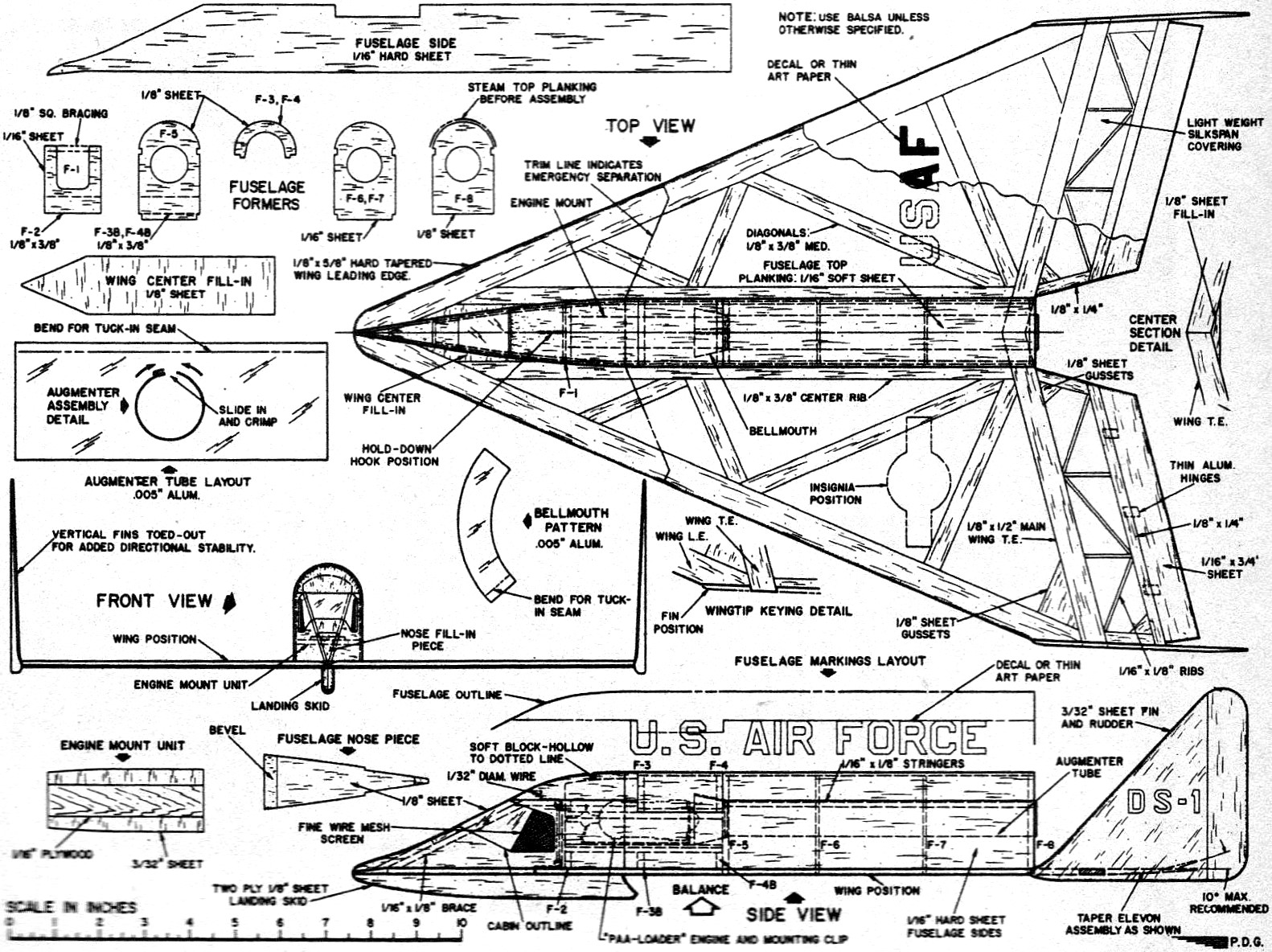 Rocket Jetex Powered Dyna Soar Article Plans July 1962 American Diagram Of A Model Engine Airplanes And Rockets
