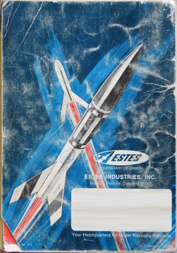 Estes 1971 Model Rocketry Catalog Airplanes And Rockets