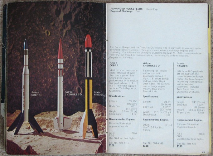 Estes Cobra Rocket - Airplanes and Rockets