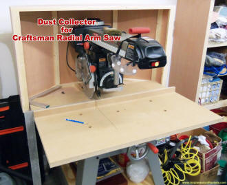 Radial Arm Saw Dust Collector - Airplanes and Rockets