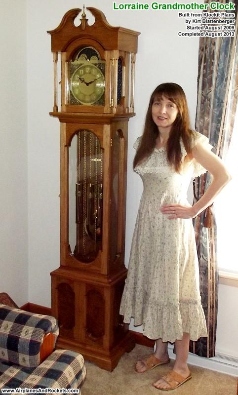 grandmother clock plans